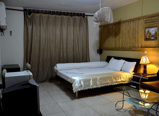 Super-deluxe room - Ruch Hotel in central Kampala